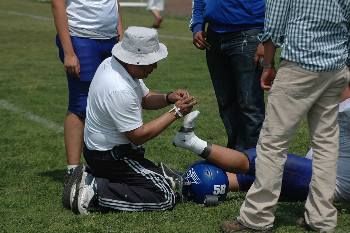 First Aid in Sports